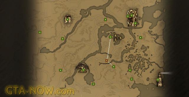 Карта телепортов Perfect World