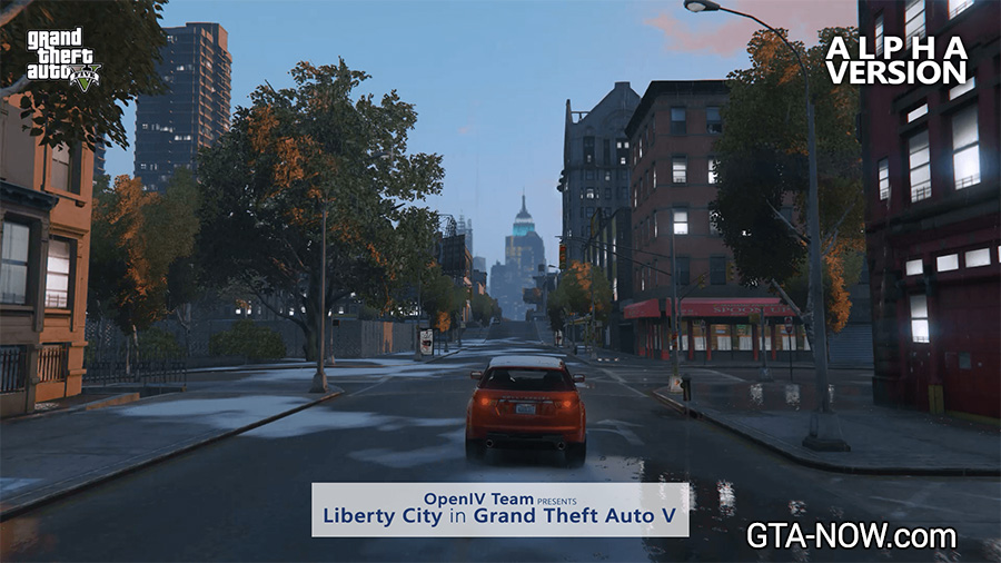 Liberty City in V