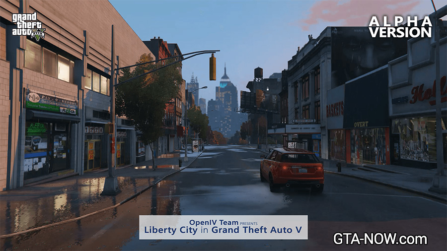 Liberty City in V