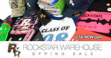 Rockstar Warehouse Spring Sale