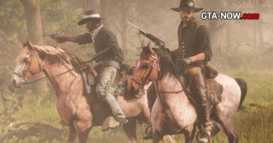 Red Dead Online лошади