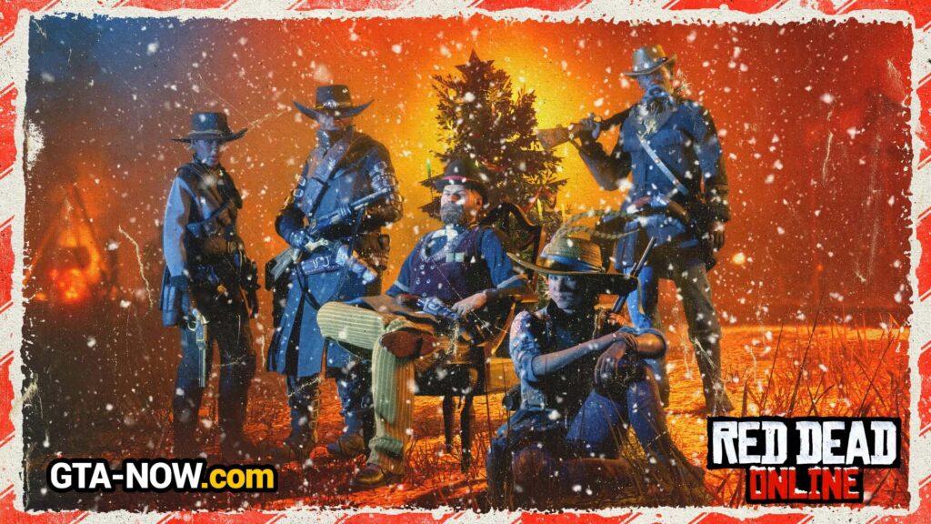 Снег в Red Dead Online